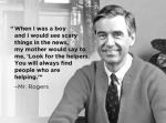 My hero, Fred Rogers.